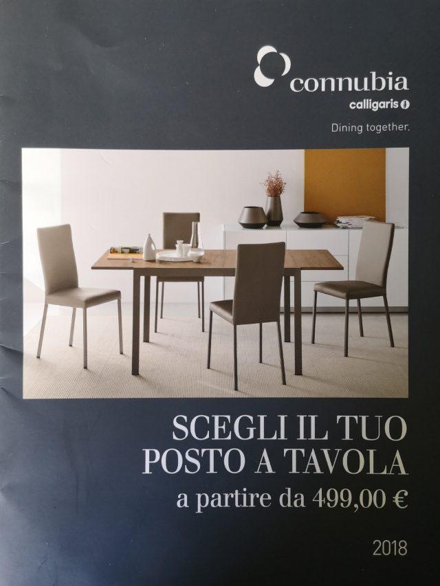 """Connubia Calligaris """"Scegli il tuo posto a tavola"""""""